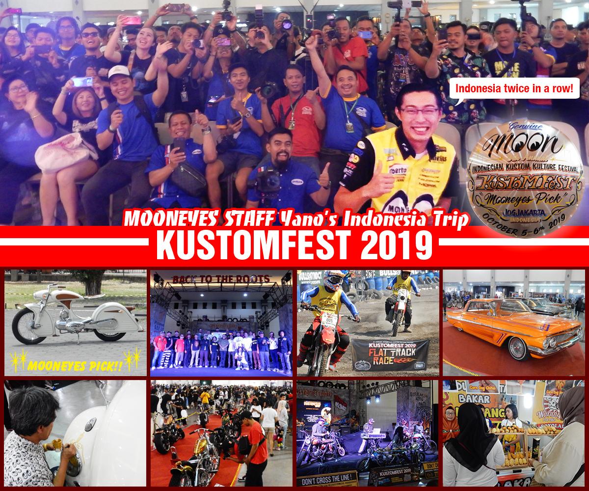 Indonesia Trip Report 「KUSTOM FEST 2019」in Jogjakarta