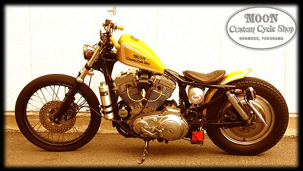 Harley Davidson Sportster – Golden Ball | Moon Custom ...